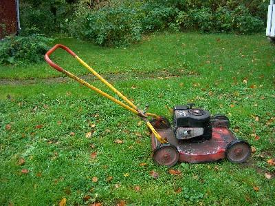 Briggs stratton gräsklippare